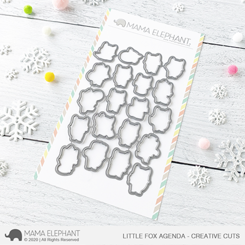 MAMA ELEPHANT: Little Fox Agenda  | Creative Cuts