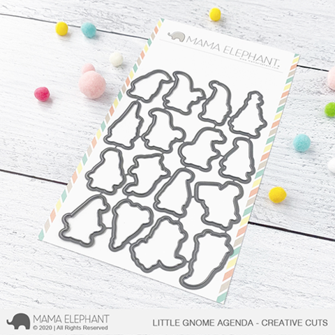 MAMA ELEPHANT: Little Gnome Agenda  | Creative Cuts