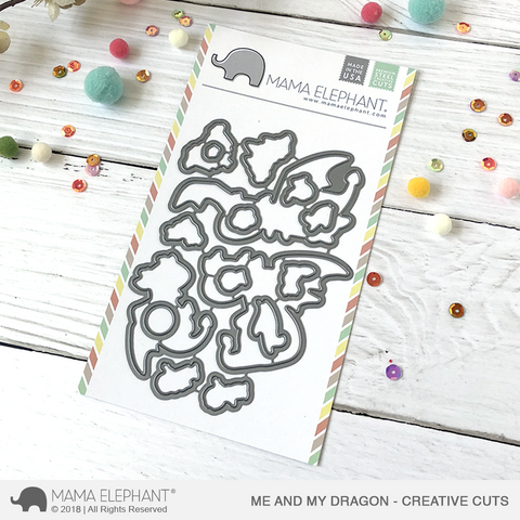 MAMA ELEPHANT: Me and My Dragon Creative Cuts