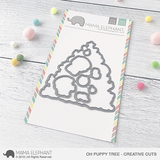 MAMA ELEPHANT: Oh Puppy Tree Creative Cuts