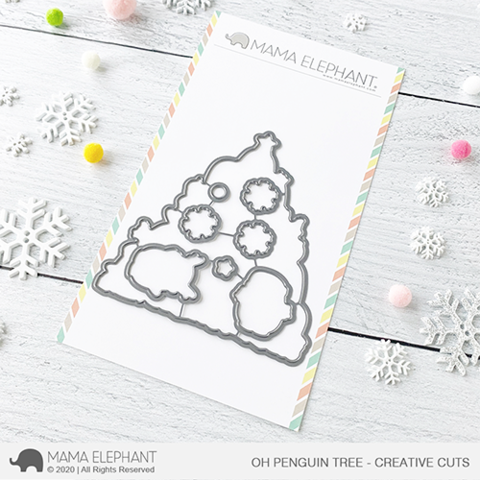MAMA ELEPHANT: Oh Penguin Tree | Creative Cuts