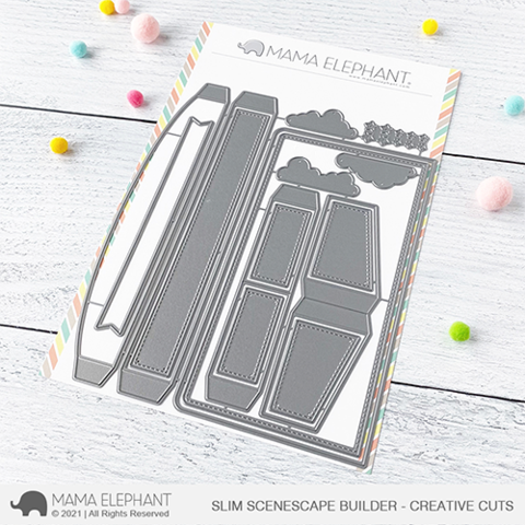 MAMA ELEPHANT: Slim Scenescape Builder | Creative Cuts