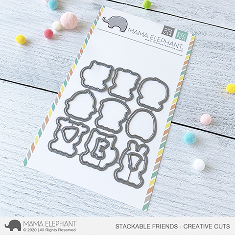 MAMA ELEPHANT: Stackable Friends | Creative Cuts