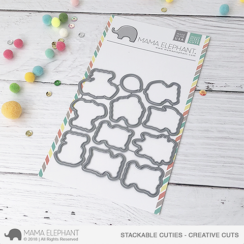 MAMA ELEPHANT: Stackable Cuties Creative Cuts