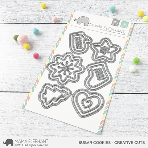 MAMA ELEPHANT: Sugar Cookies Creative Cuts