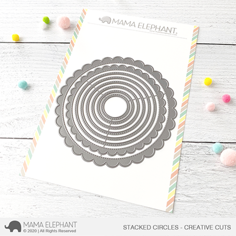 MAMA ELEPHANT: Stacked Circles | Creative Cuts