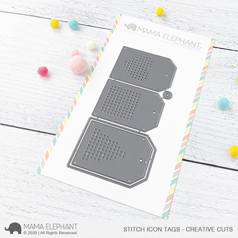 MAMA ELEPHANT: Stitch Icon Tags | Creative Cuts
