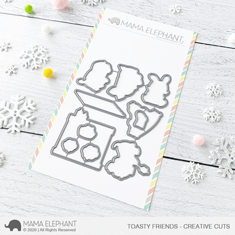 MAMA ELEPHANT: Toasty Friends | Creative Cuts