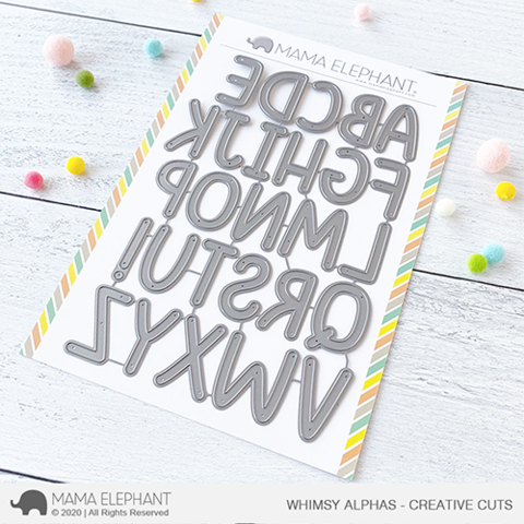 MAMA ELEPHANT: Whimsy Alphas | Creative Cuts