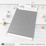 MAMA ELEPHANT: Winter Forest Cover Creative Cuts