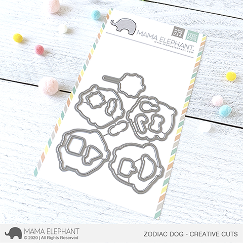 MAMA ELEPHANT: Zodiac Dog | Creative Cuts