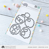 MAMA ELEPHANT: Zodiac Sheep | Creative Cuts