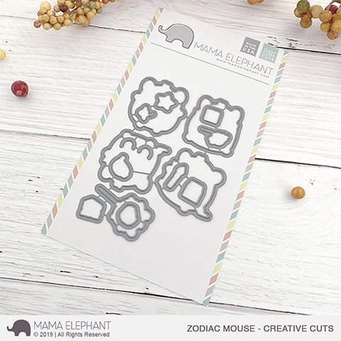 MAMA ELEPHANT: Zodiac Mouse | Creative Cuts