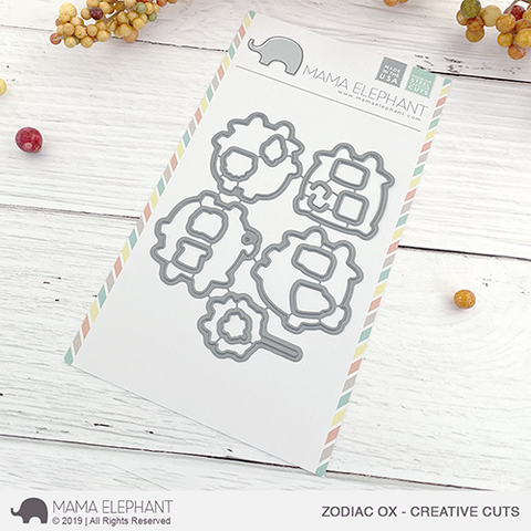 MAMA ELEPHANT: Zodiac Ox | Creative Cuts