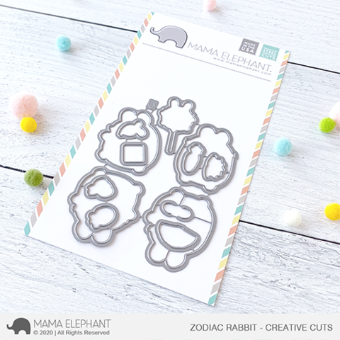 MAMA ELEPHANT: Zodiac Rabbit | Creative Cuts