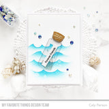 MFT STAMPS: Stencil | Wave Maker