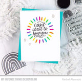 MFT STAMPS: I Miss Your Hugs | Stamp