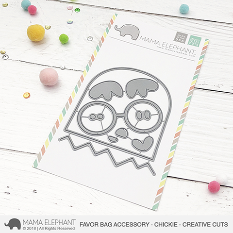 MAMA ELEPHANT: Chickie- Favor Bag Accessory Creative Cuts
