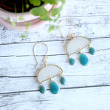 NO MAN'S LAND ARTIFACTS:  Cloudburst Earrings