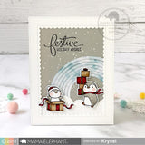 MAMA ELEPHANT: Cool Penguins Creative Cuts