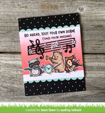 LAWN FAWN: Little Music Notes Lawn Cuts Die