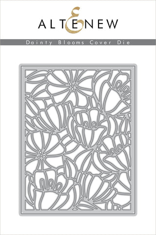 ALTENEW: Dainty Blooms Cover Die