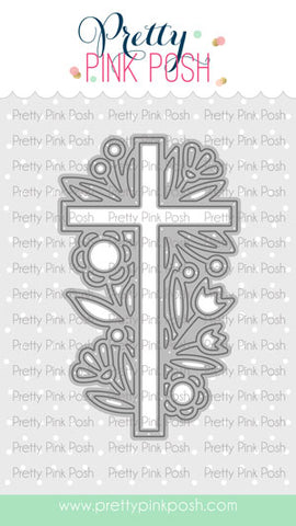 PRETTY PINK POSH: Decorative Cross | Die