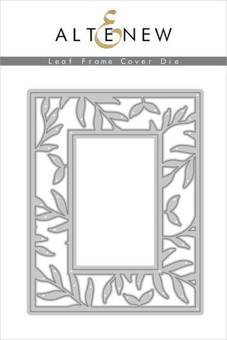 ALTENEW: Leaf Frame Cover Die