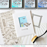 MFT STAMPS: BB Friends with Fins | Stamp