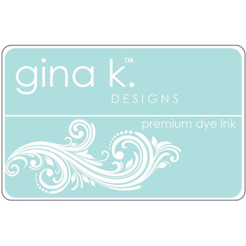 GINA K. DESIGNS:  Premium Dye Ink Pad (Sea Glass)