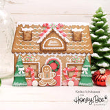 HONEY BEE STAMPS: Gingerbread House Add-on