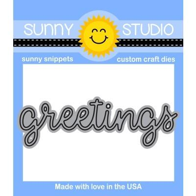 SUNNY STUDIO: Greetings Word Sunny Snippets