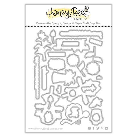 HONEY BEE STAMPS: Let's Hang Out | Honey Cuts