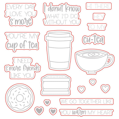 HONEY BEE STAMPS: Love You S'more | Honey Cuts