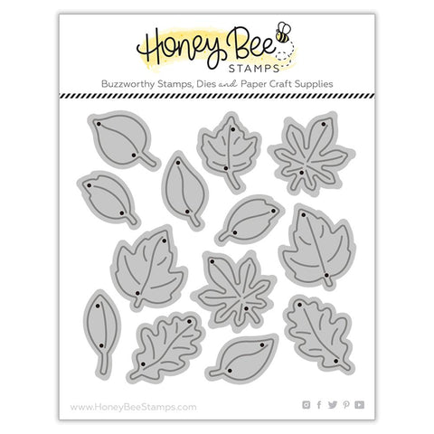 HONEY BEE STAMPS: Itty Bitty Leaves | Honey Cuts