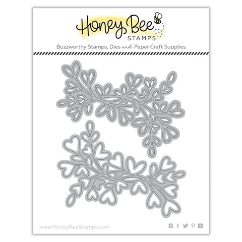 HONEY BEE STAMPS: Lovely Layers: Heart Vine | Honey Cuts