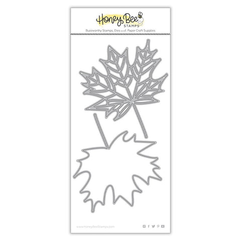 HONEY BEE STAMPS: Lovely Layers Maple Leaf | Honey Cuts