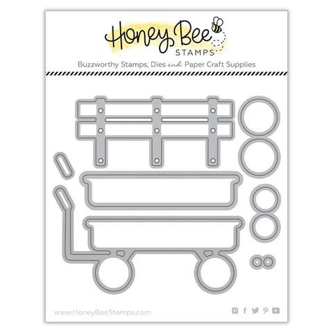 HONEY BEE STAMPS: Little Red Wagon | Honey Cuts
