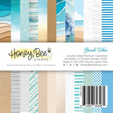 "HONEY BEE STAMPS: Beach Vibes | 6"" x 6"" Paper Pad"