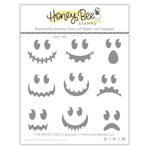 HONEY BEE STAMPS: The Name's Jack