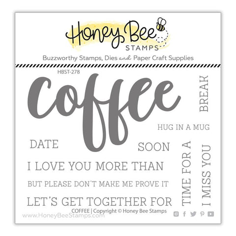 HONEY BEE STAMPS: Coffee | Stamp