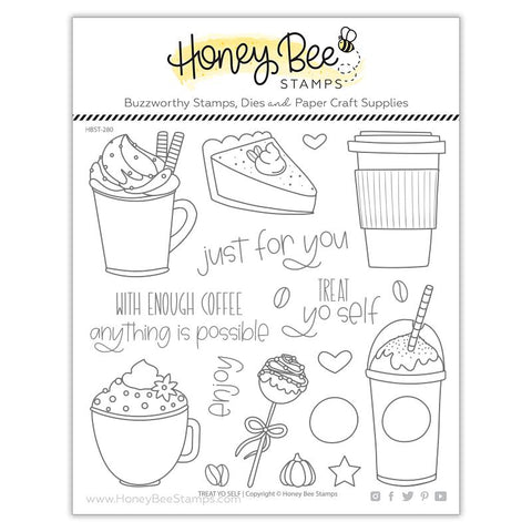 HONEY BEE STAMPS: Treat Yo Self | Stamp