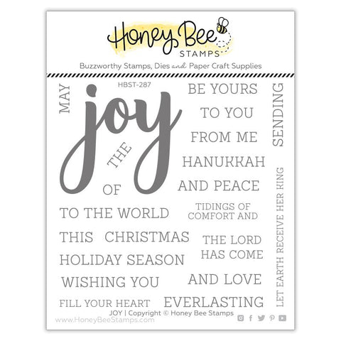 HONEY BEE STAMPS: Joy | Stamp [COMING SOON]