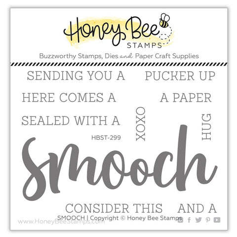 HONEY BEE STAMPS: Smooch | Stamp