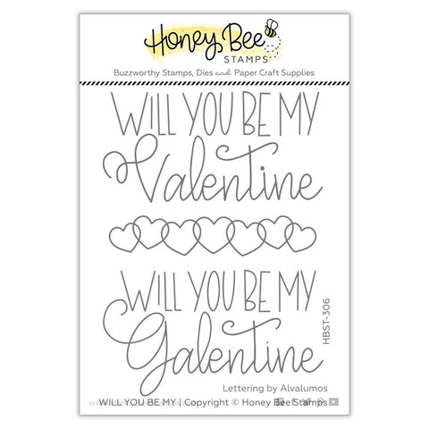 HONEY BEE STAMPS: Will You Be My | Stamp