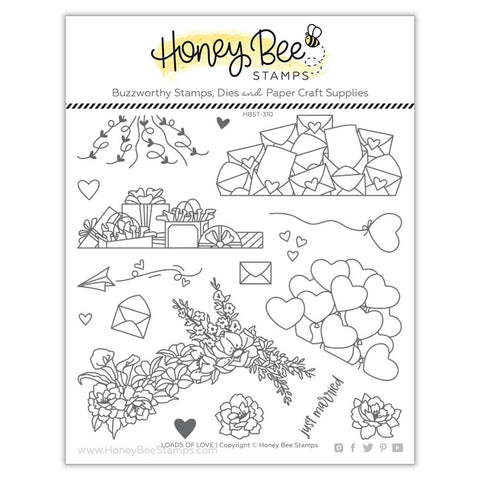 HONEY BEE STAMPS: Loads of Love | Stamp