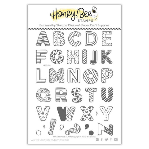 HONEY BEE STAMPS: Sugar Cookie Alphabet | Stamp