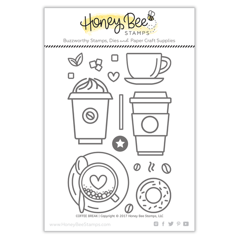 HONEY BEE STAMPS: Coffee Break