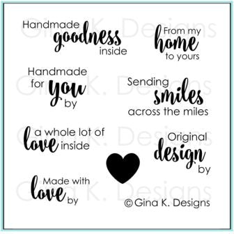 GINA K. DESIGNS:  Handmade Goodness | Stamp