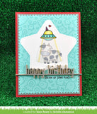LAWN FAWN: Happy Birthday Line Border Lawn Cuts Die